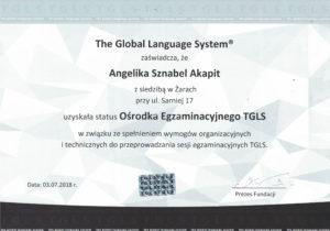 Ośrodek Egzaminacyjny TGLS